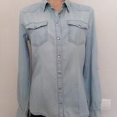 Рубашка джинсовая р.38 М