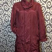 Лёгкая, демисезоная, удленённая куртка-пальто Fashion пышненьких модниц. В новом состоянии.