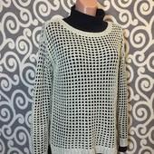 Модный, свитерок-сетка Vero Moda с удлинённой спинкой для пышненьких девушек .