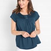 Симпатичная, фирменная, качественная блузка. 100% Bawełna. Пр-во Индия. р-р: 44/46. новая. описание
