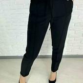Штани класичні жіночі, висока талія, розмір 48