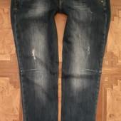 Дорогие темно синие стрейч джинсы на Л можно больше отличное состояние, плотненькие