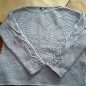 Вишуканий светер з оригінальними рукавами