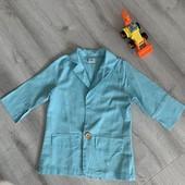 Пиджак легкий мальчику 120 см