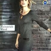 Стильное трикотажное платье Esmara. Размер XS, евро 32-34