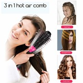 Фен щетка расчёска для укладки волос стайлер 3 в 1 One Step Hair Dryer and Styler