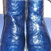 Женские демисезонные ботинки. 40р. Есть нюанс
