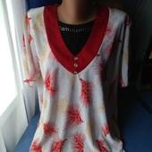 Симпатичная женская блузка, р.50-52