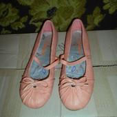 Кожаные балетки Gang.размер 38.стелька 24 см.в отличном состоянии.Оригинал!