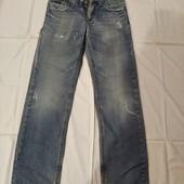 Мужские джинсы дранки в хорошем состоянии