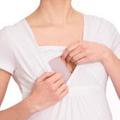 ☘ Лот 1 шт ☘ Футболка для вагітних з функцією грудного вигодовування від Gina Mama, р. 46 євро