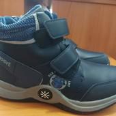 Демисезонные ботинки р.37- 23 см по стельке.