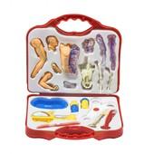 Докторский набор с анатомической моделью (в чемоданчике).