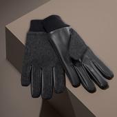 ☘ В'язані рукавиці з утеплювачем thinsulate, Tchibo (Німеччина), розмір: 8,5