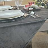 ☘ Велюрова скатертина для сервірування столу Tukan (Германія)