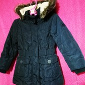 ❤️☀️❤️Куртка - пальто на синтепоне. Зима - весна. Рр 104.