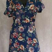 лёгкое платье с цветочным принтом
