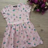 Платье для девочки 3-4года. George. Хорошее состояние