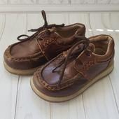 Деми ботинки на мальчика натуральная кожа