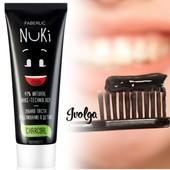 Уникальная! Зубная паста «Отбеливание & Детокс» с углём Nuki-технологии faberlic