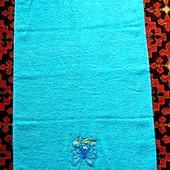 Два новых хлопковых махровых полотенца, в лоте 1 на выбор, 100 × 50