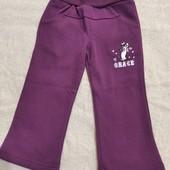 новые штанишки Grace, размер 92, внутри флисовые.