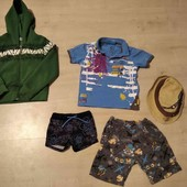 Летний набор одежды + флиска для дома