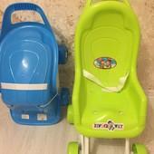 Розпродаж!!! Нова коляска для кукол в лоті салатова!!