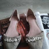 Открытые туфли балетки