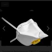 Фильтрующая полумаска с клапаном 10шт в лоте