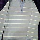 Качественная плотная рубашка под джинс, р. M-L.