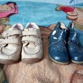 2 пары туфлей на весну размер 27 и 28. Состояние на 4. Смотрите другие мои лоты.