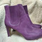 Классные новые кожаные полусапожки Ecco. Размер 40, 41. Одни на выбор. Отличное качество!!!