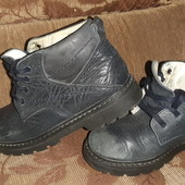 Кожаные ботинки на мальчика р. 29