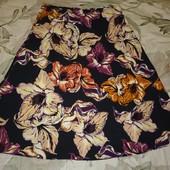 Яркая летняя юбка р.16 в идеальном состоянии