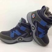 Шикарные весенние деми ботинки, сапоги на мальчика 30 размер, качество супер 18,6см