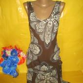 Очень красивое женское платье пляжный вариант Next (Некст) рр 10 грудь 49 см !!!!!!!!!