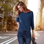 Стильный пуловер из текстурированного хлопка от немецкого бренда от Tchibo. размер 44 евро=50-52