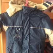 Куртка. весна, внутри флис, размер 2 года 92 см, Tik&Tak. cост. хорошее