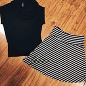 Безрукавка и юбочка от H & M в одном лоте
