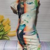 Вау! Обалденное стрейчевое платьице размер S