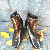 Шикарные нарядные ботинки mallanee 38р 24-24,5см
