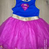 Платье карнавальное на 8-10лет замеры на фото