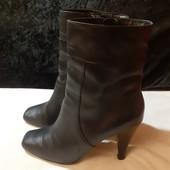 Деми ботинки из нат. кожи Next, ориг. Вьетнам, разм. 38 (24,5 см внутри). Сост. хорошее!