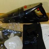 Автомобильный аккумуляторный пылесос HoLife 90W волога+суха уборка