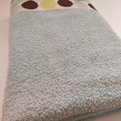 Махровий плотний добротний якісний банний рушник у відмінному стані 140*70