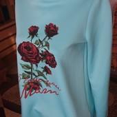 Эксклюзив! Фирменное платье D&G Роза, рр 44-46 , Качество 100% ,длина 85 см!!!