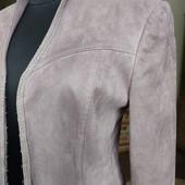 Шикарный жакет курточка пиджак под замшу Next