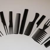 Набор профессиональных расчесок professional comb 10 штук