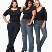На шикарные формы! Классные плотненькие стрейчевые джинсы р.22 Акция читайте